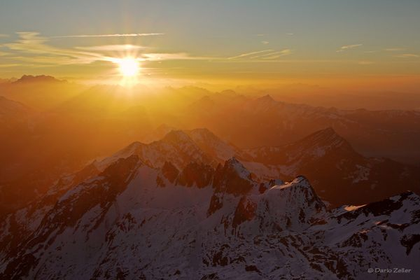 Sonnige Bergwelt
