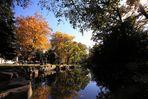 sonniger Herbst im Grazer Stadtpark