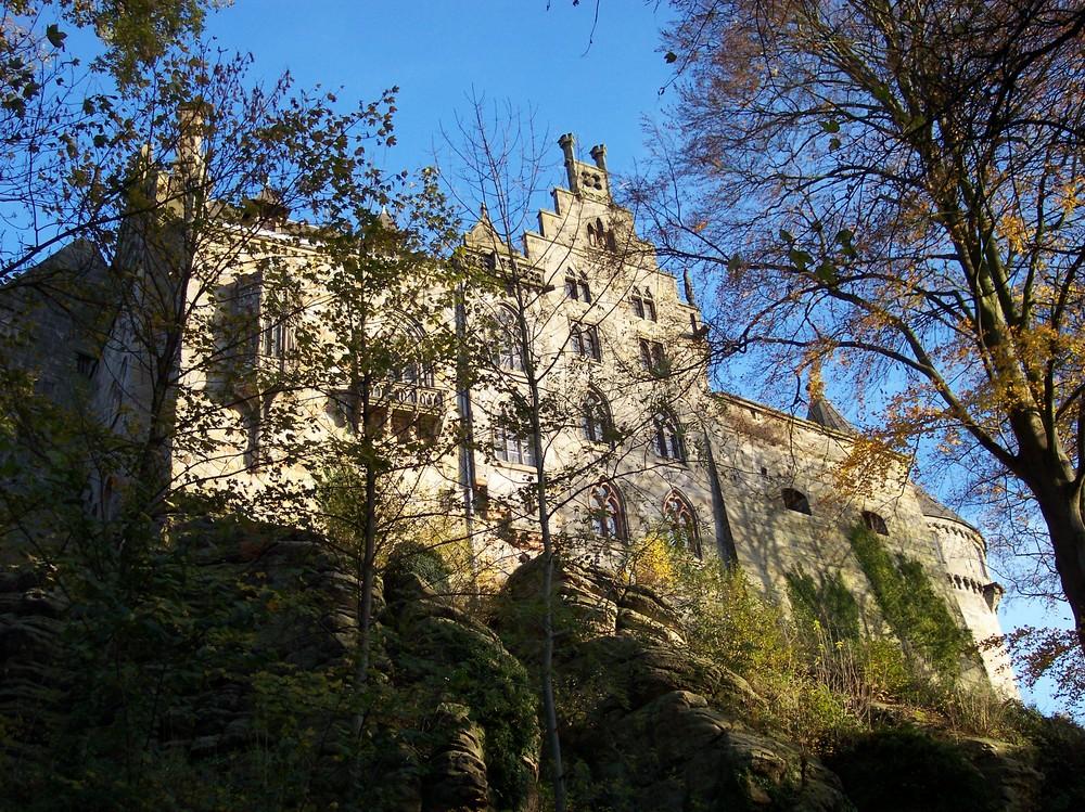 Sonniger Tag im November: Burg Bentheim