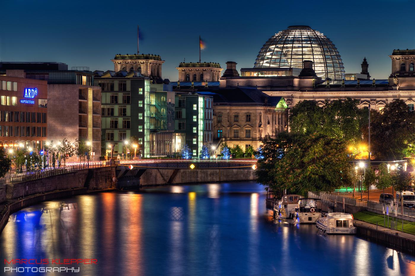 Sonntag Abend in Berlin