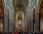 Sonntag - ein Blick in den Veits Dom, Prag