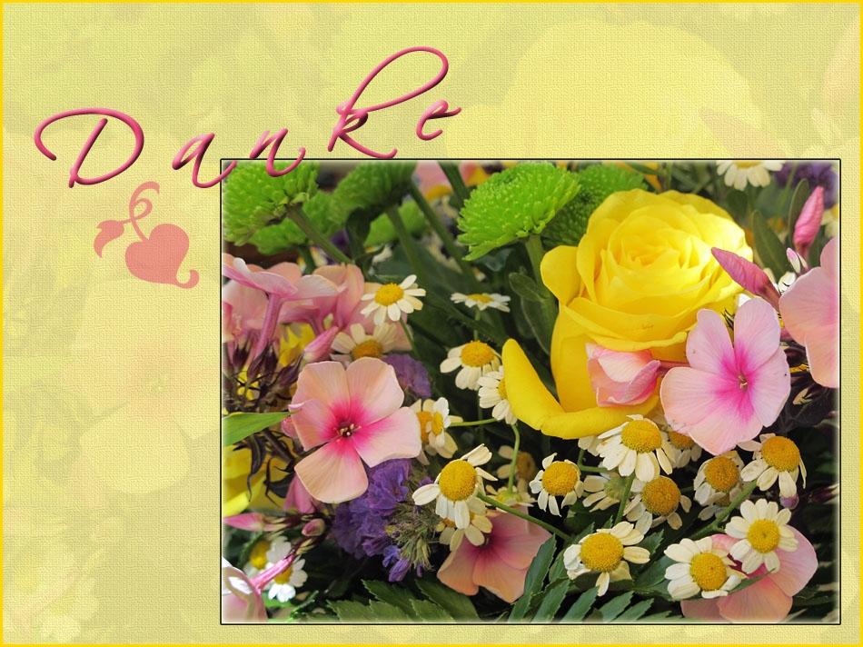 Sonntags-Blumenstrauß