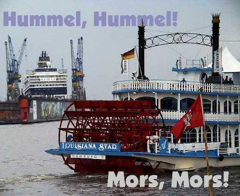 Sonntags-Gruß aus dem Hamburger Hafen