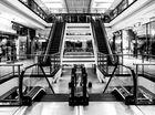 Sonntags im Einkaufszentrum