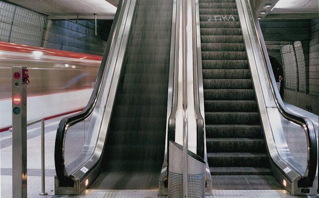 Sonntags in der U-Bahn