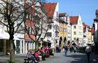 """Sonntags in Lindau:"""" ...doch an Blumen fehlts im Revier,"""