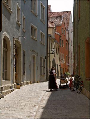 Sonntags in Regensburg