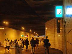 Sonntagsspaziergang im Autobahntunnel