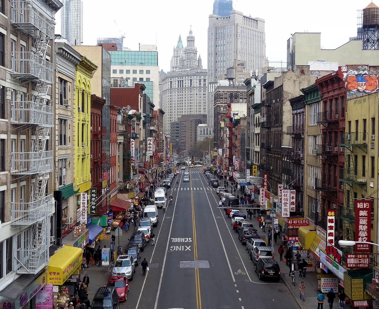sonntagsstrasse in chinatown