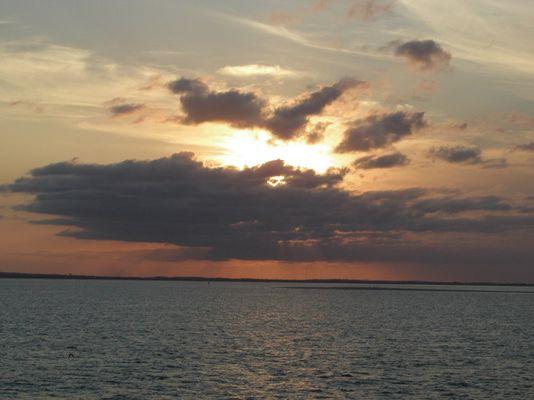 Sonnuntergang Frazer Island