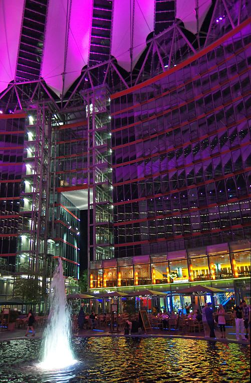 Sony-Center, 09.07.10 – 01