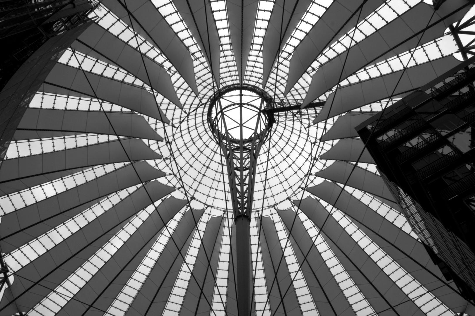 Sony Center Kuppel