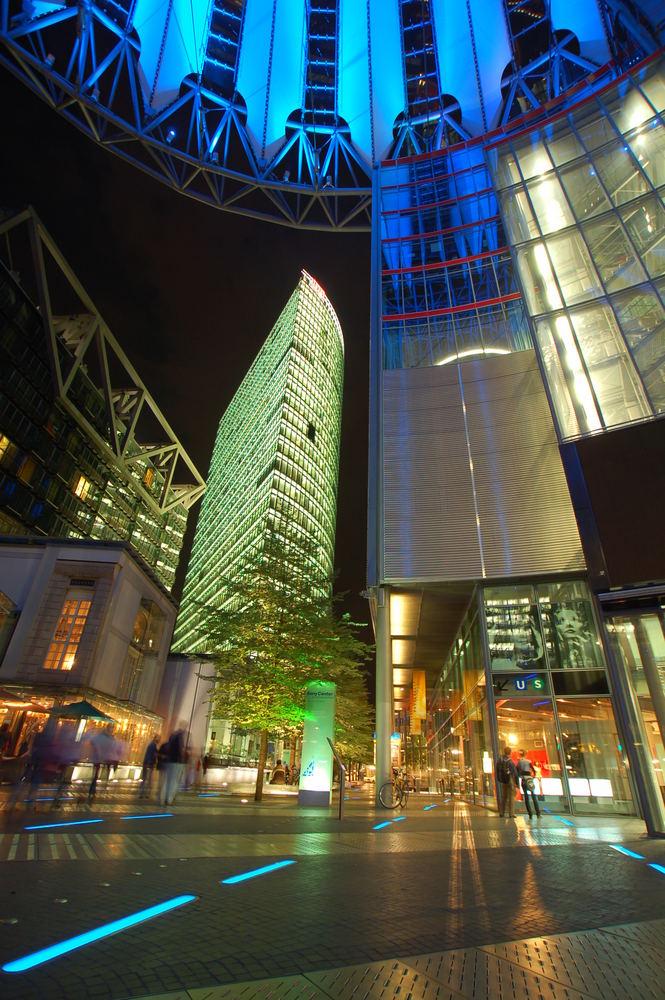 Sony Center - Potsdamer Platz - Berlin - Deutschland
