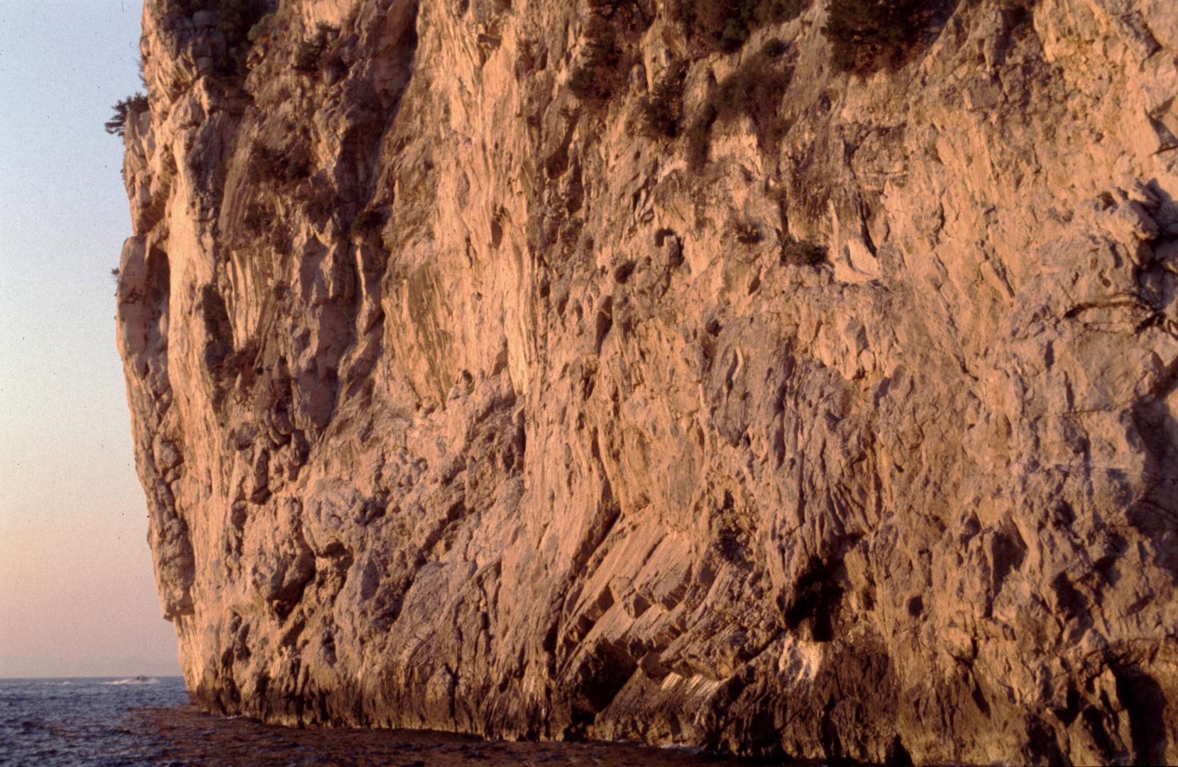 Sorento, Steilküste