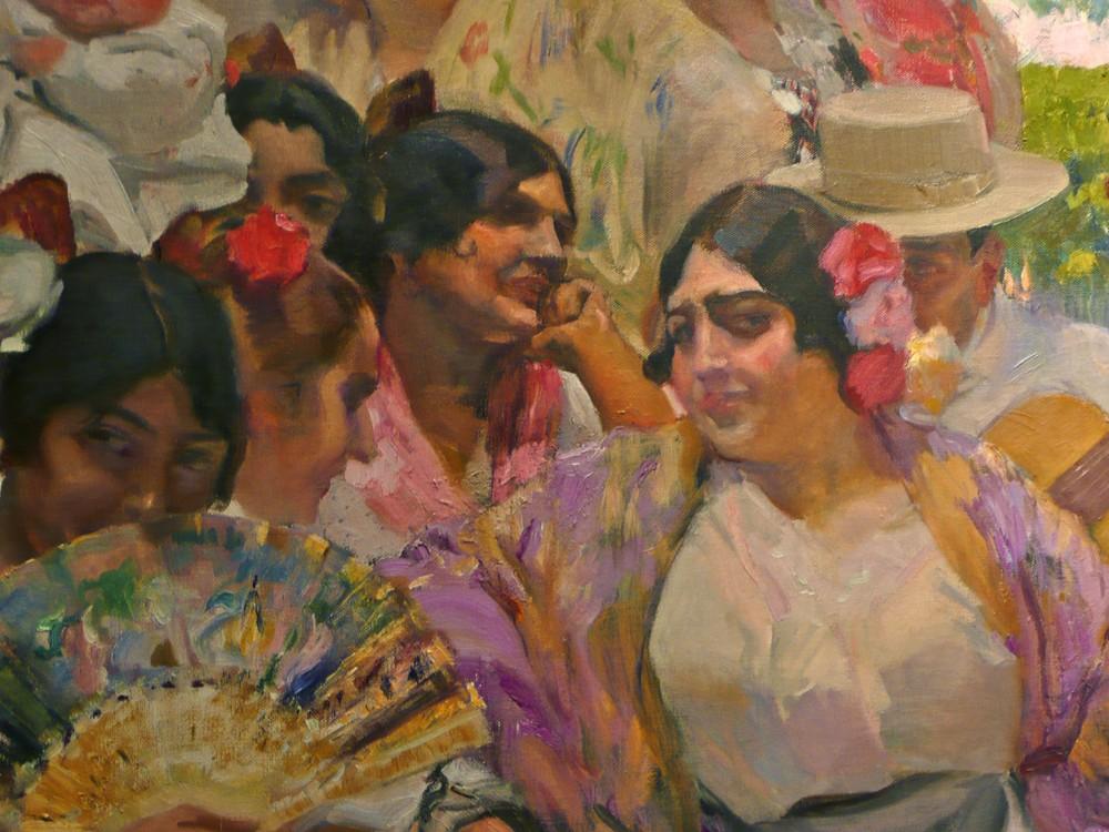 Sorolla Mujer flamenca