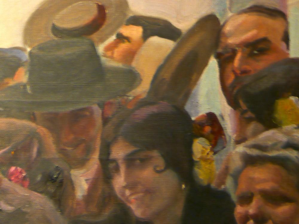 Sorolla y el hombre del sombrero