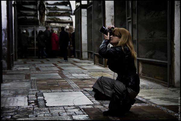Sorpresa a fotografare nelle Catacombe dei Cappuccini