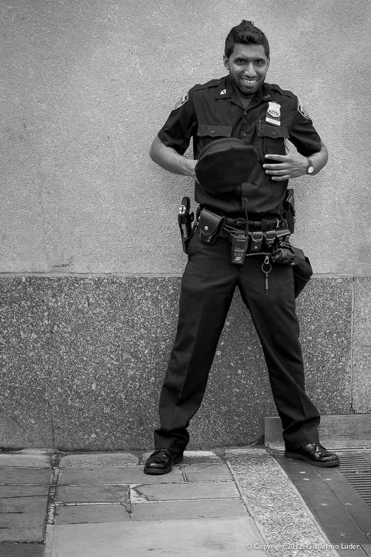 """""""Sorpresa de un policía"""""""