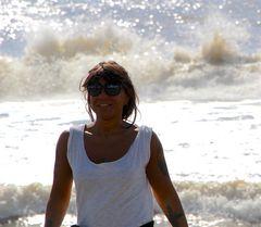 Sorridere sull'onda...