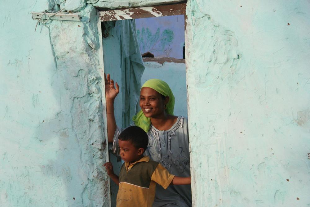 Sorrisi ... sulle sponde del Nilo