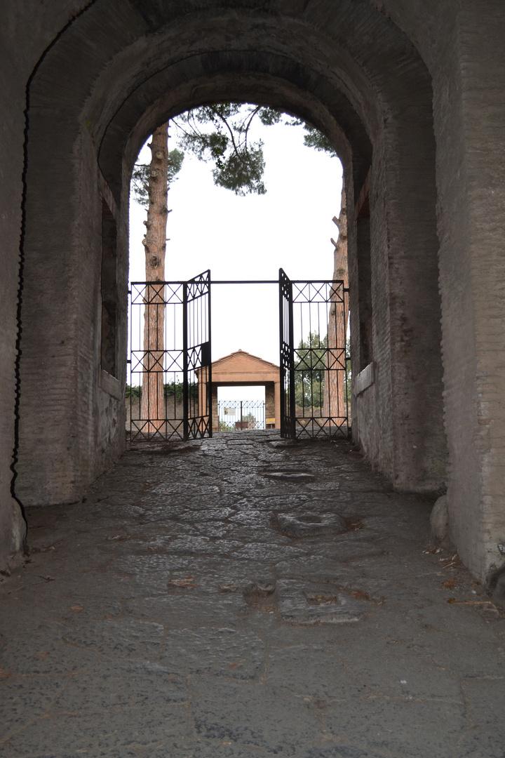 Sortie amphithéâtre Pompéi