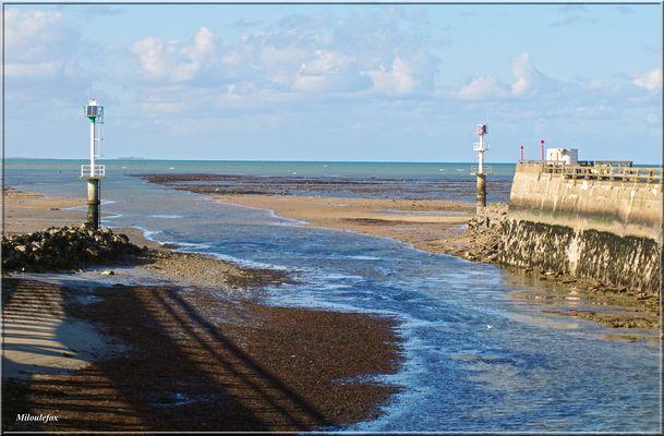 Sortie de Grandcamp par la mer