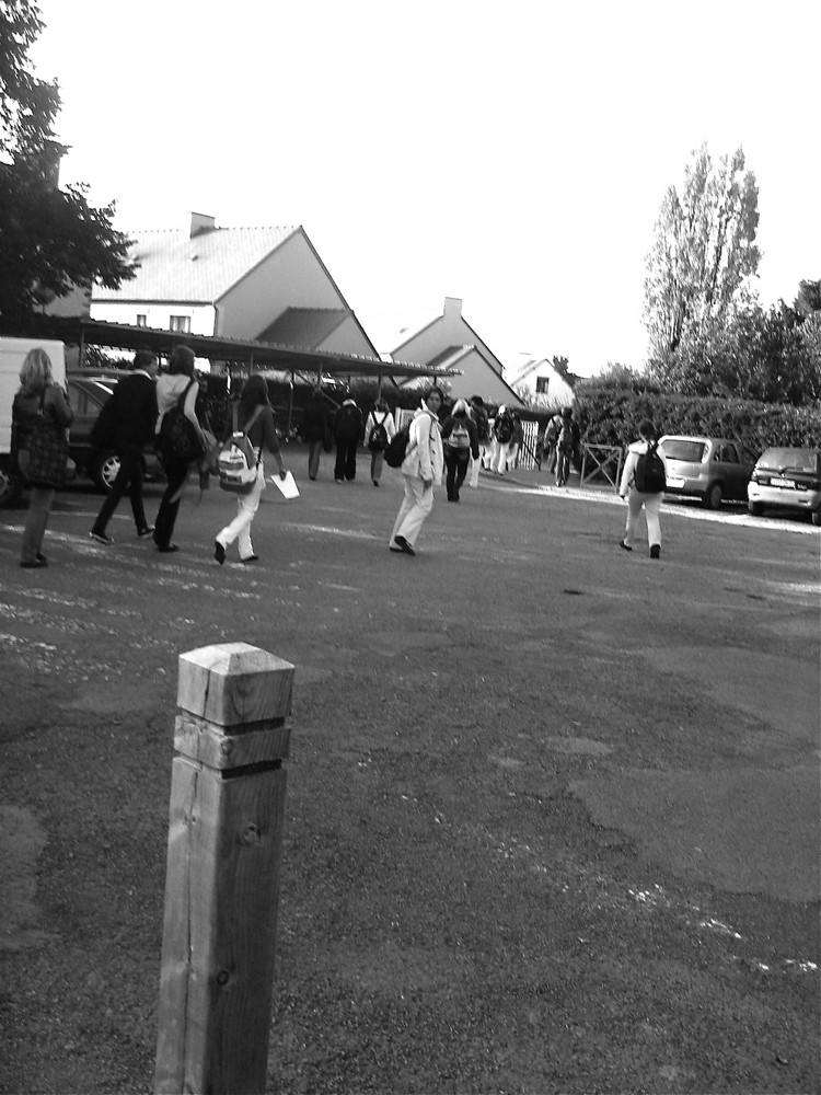 Sortie de Lycée