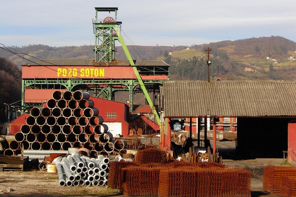 Soton colliery; Asturias - Northern Spain