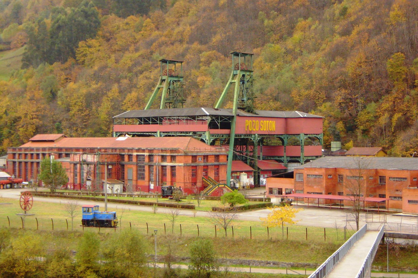 Soton Colliery. Asturias - Northern Spain
