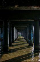 Sotto il pontile