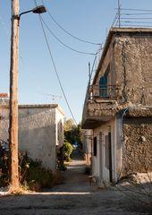 Sougia backstreet