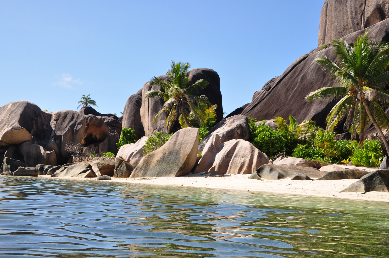 Source d'Argent - La Digue - Seychellen