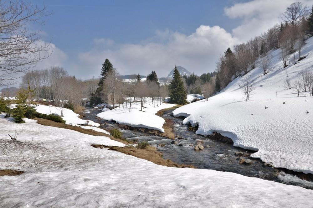 Source de la Loire Mont Gerbier de Jonc