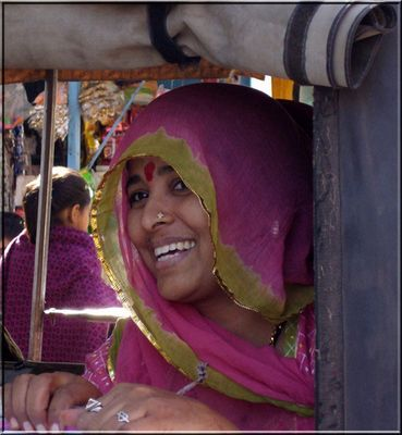Sourire du Rajasthan