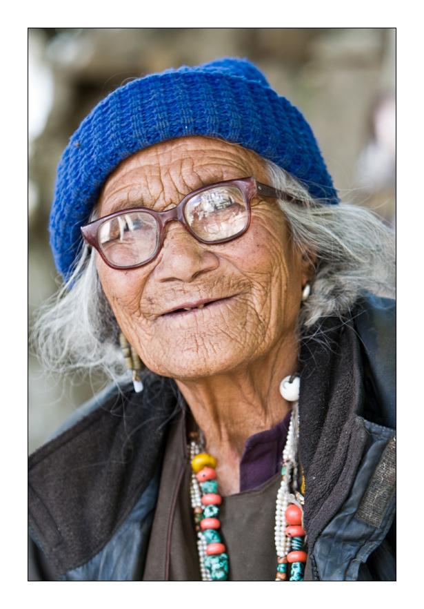 Sourire Ladakhi