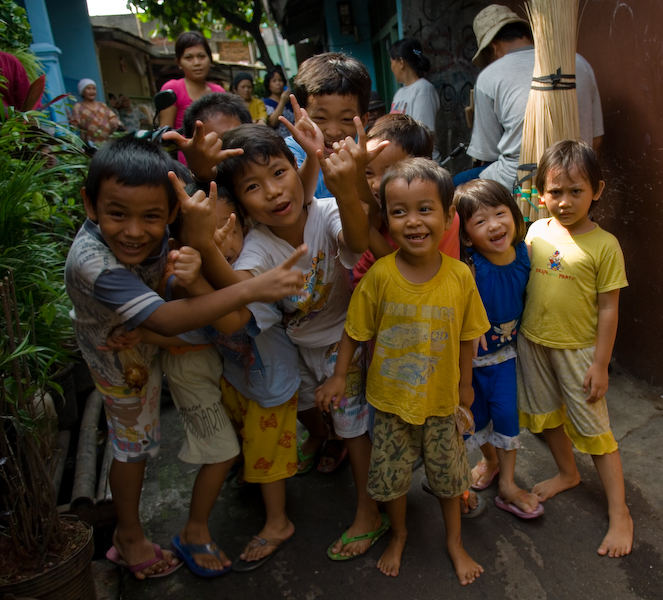 Sourires de Jakarta