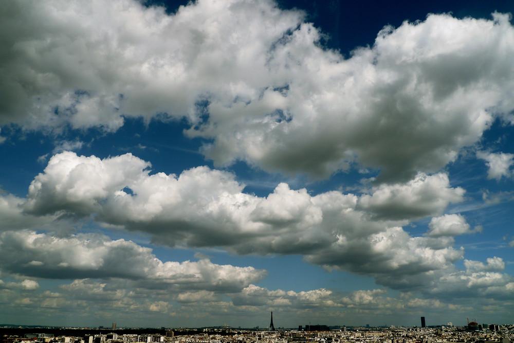 Sous le ciel de Paris !