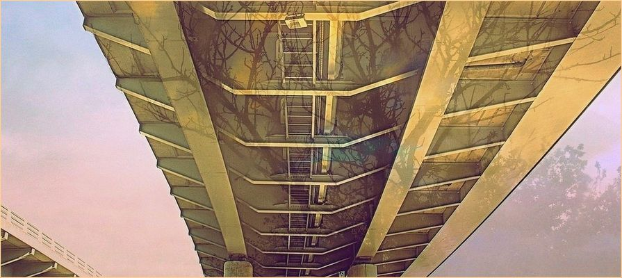 Sous le pont Flaubert / Rouen (76)