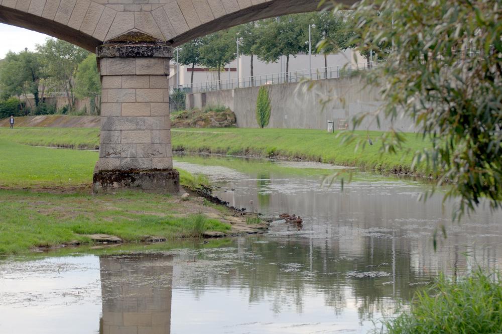 Sous les ponts de Nancy
