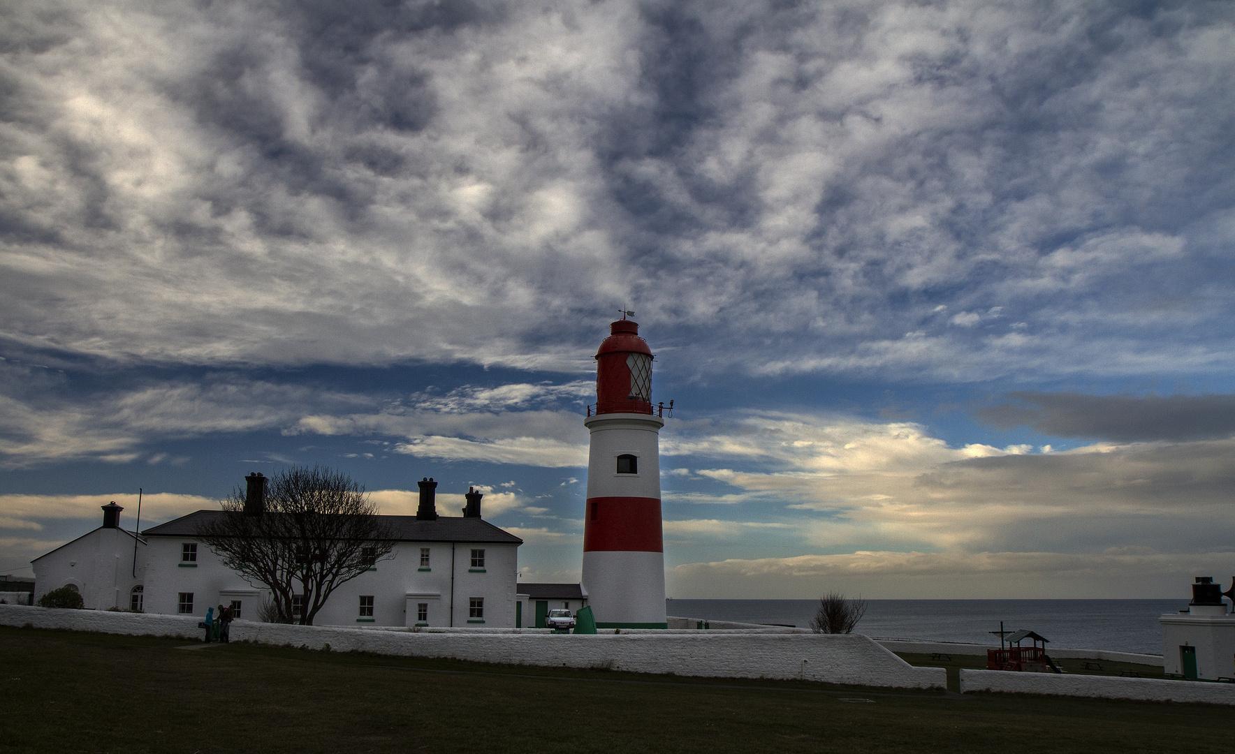 Souter lighthouse Northeast England