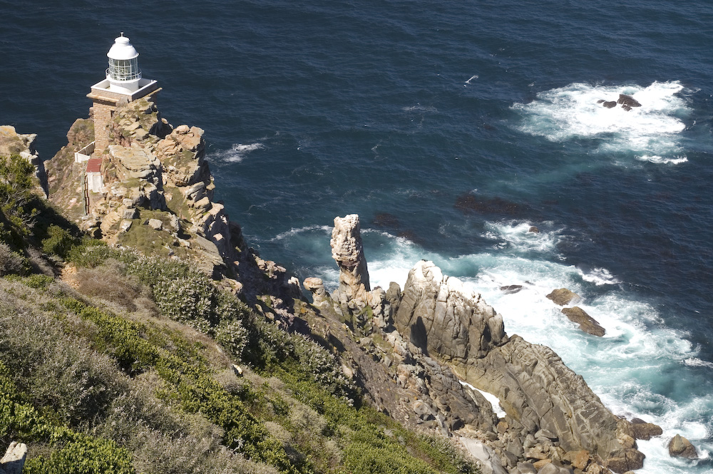 South africa - cape of good hope, historical lighthouse