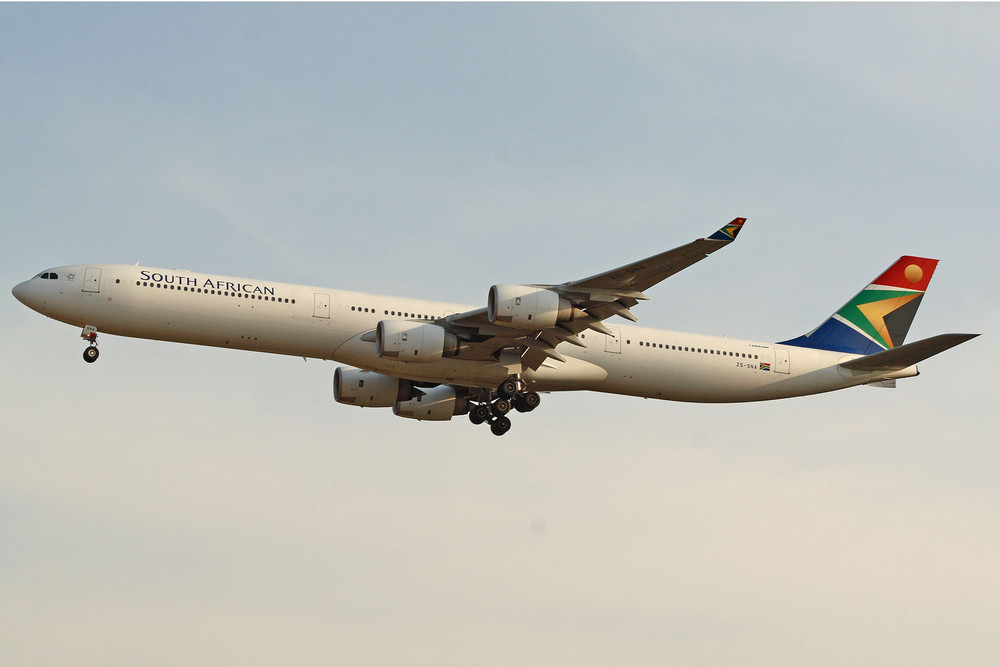 South African Airways Airbus A340-642 (ZS-SNA)