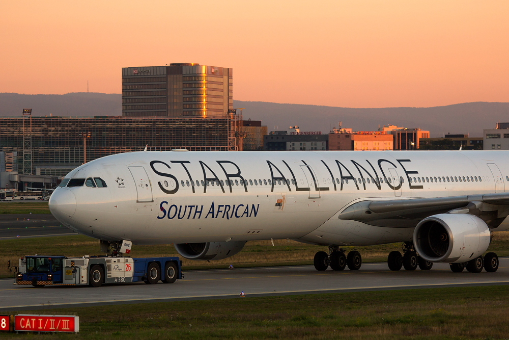 South African Airways Airbus A340-642 ZS-SNC