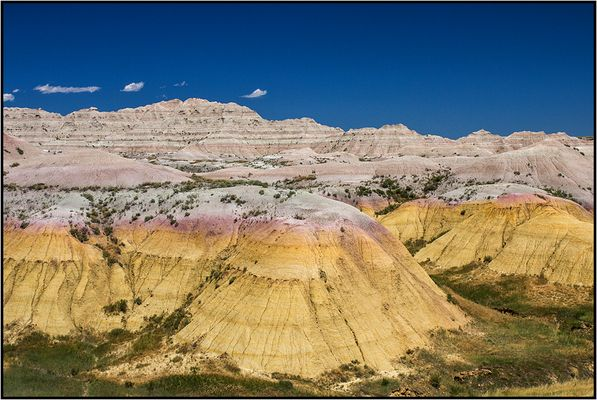 South Dakota | colored Badlands |