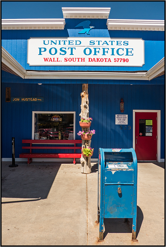 South Dakota | small town Post Office |