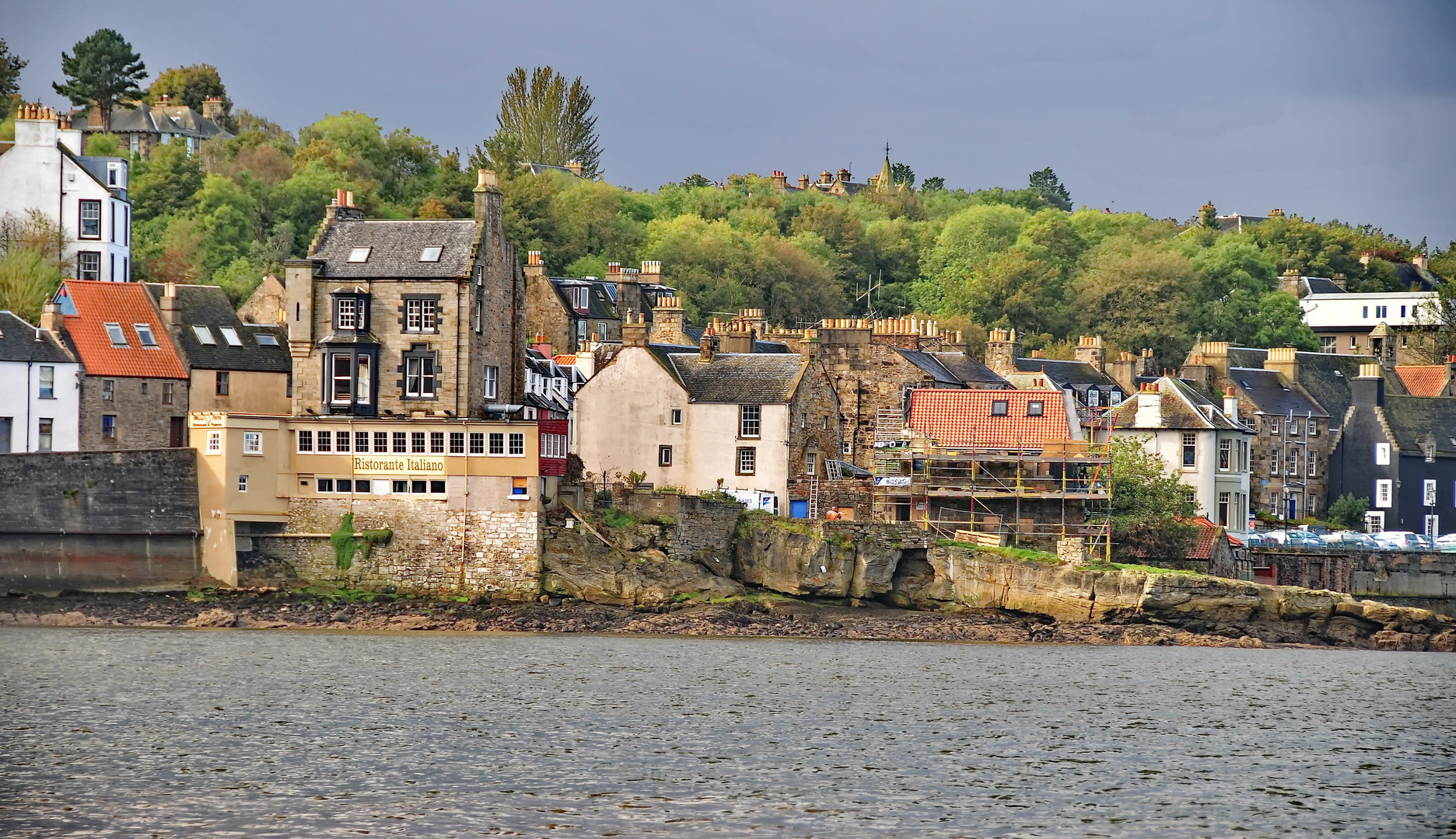 South Queensferry near Edinburgh