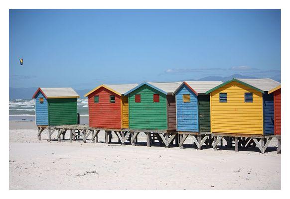 [southafrica] ... muizenberg beach huts IV