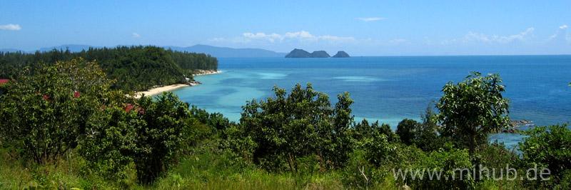 southwest coastline Koh Pha-ngan