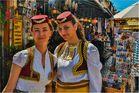 Souvenierverkäuferinnen in Mostar