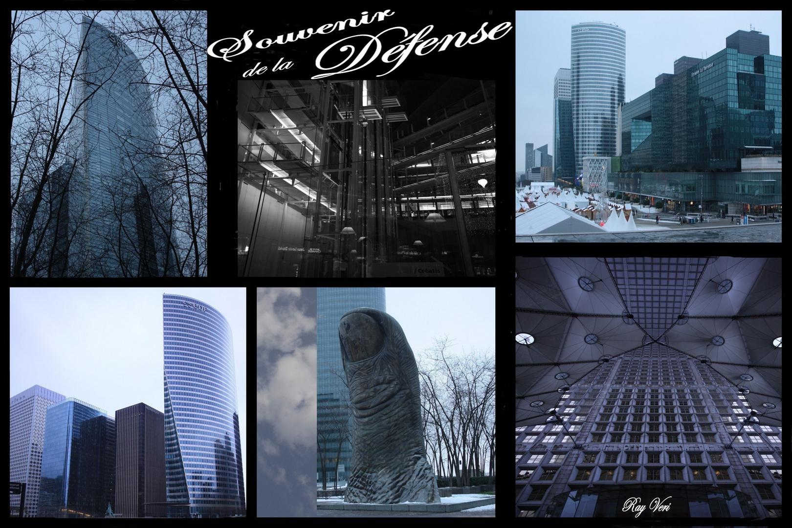 Souvenir de la Défense